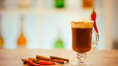 Chocolate Caliente Picante